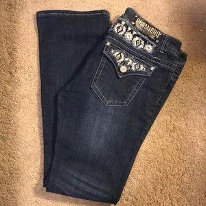 Premiere Distressed Jeweled Jeans 👖 11/12
